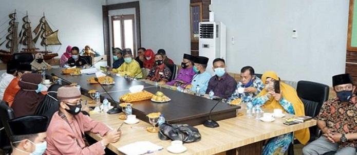 Zulaikhah Wardan Menggelar Pertemuan Dengan Seluruh Pengurus Fkks Kabupaten Inhil