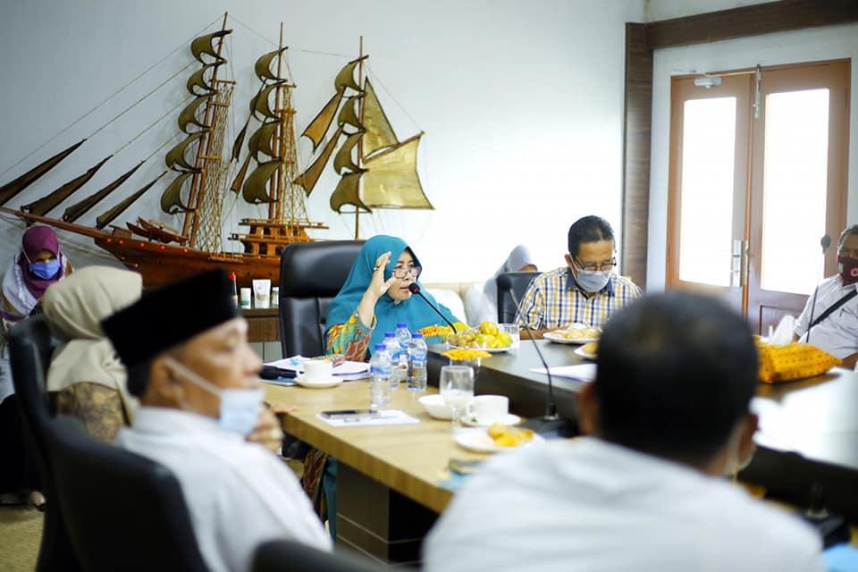 Zulaikah Wardan Pimpin Rapat Pelaksanaan Indikator dan Tatanan Kegiatan Kabupaten Sehat