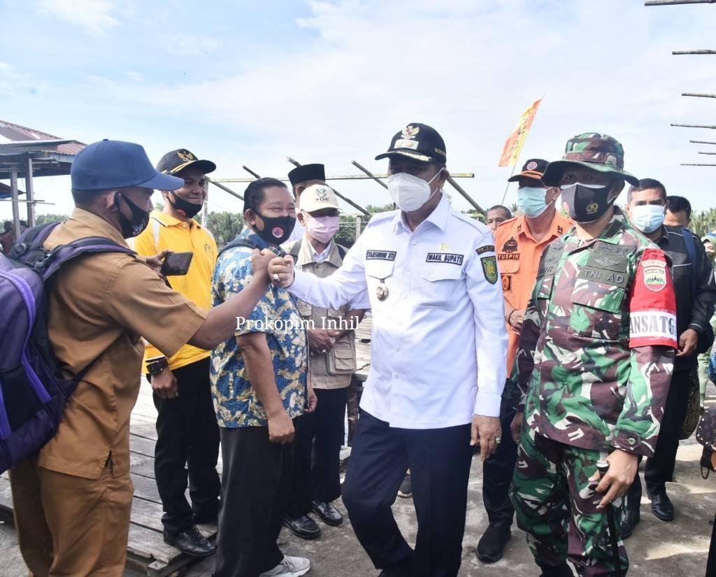 Wakil Bupati H.Syamsuddin Uti Sambut Kedatangan Tim Wasev dari Mabes TNI