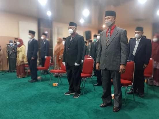 Bupati HM Wardan Lantik 23 Pejabat Administrator di Lingkungan Pemkab Inhil